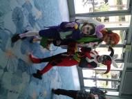 Joker, Poison Ivy and Harley Quinn