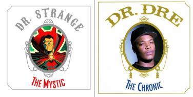 """Doctor Strange #1 / Dr Dre's """"The Chronic"""" - art by Juan Doe"""