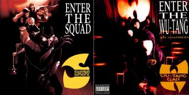 """Squadron Supreme #1 / Wu-Tang Clan's """"Enter the 36 Chambers"""" - art by Mike Del Mundo"""