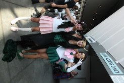 Lady Loki and Two Sailor Scouts