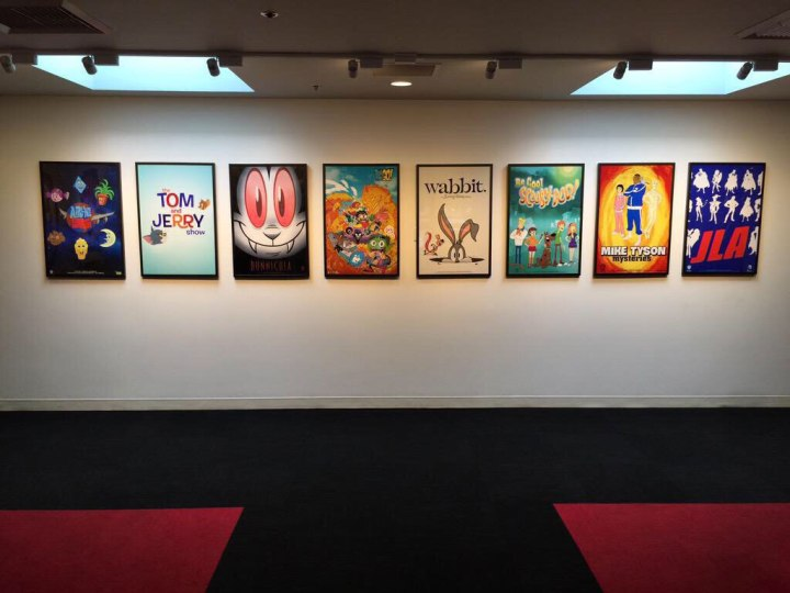 Alleged photo of a wall in Cartoon Network HQ