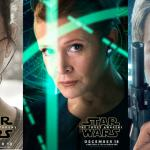 New Star Wars: The Force Awakens Character Posters Reveal Leia In-Command