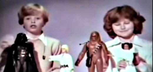 Star Wars 1977 Vintage Commercial Header