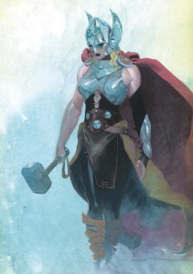 Thor #1 - cover by Esad Ribic