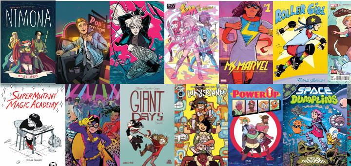 The Best Comics of 2015 for Kids and Teens | Heroic Girls