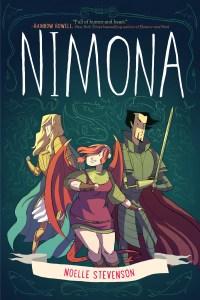 Nimona - cover by Noelle Stephenson