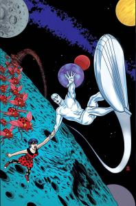 Silver Surfer #1 - cover by Mike Allred