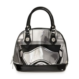 Star Wars: The Force Awakens Captain Phasma Embossed Mini Dome Bag - Loungefly