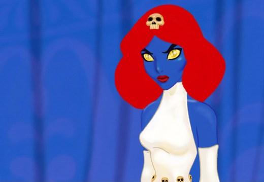 Jasmine as Mystique