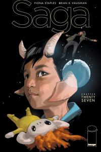 Saga #27 - Cover by Fiona Staples