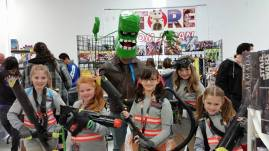 Ghostbuster Girls - Auburndale City Con