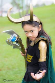 Loki Costume by Jose and Sendy Ramirez Photography by Wonderwallvisions