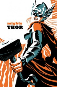 Mighty Thor #4 - cover by Michael Cho