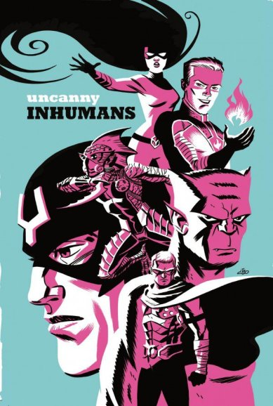 Uncanny Inhumans - cover by Michael Cho