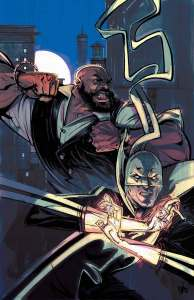 Power Man and Iron Fist #1 - cover by Chris Visions