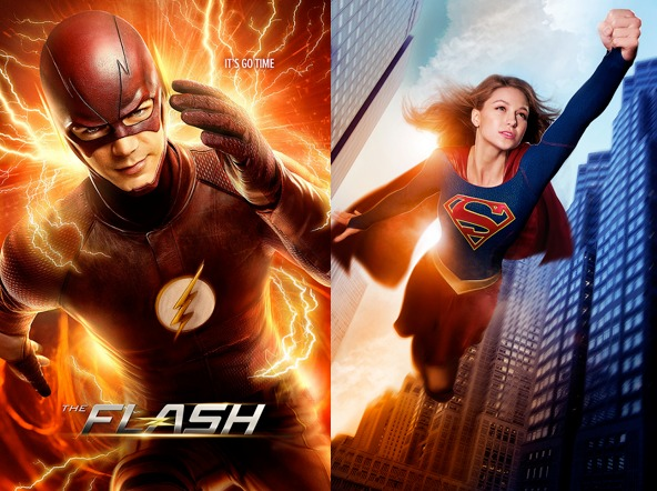The Flash joins Supergirl for a special crossover episode