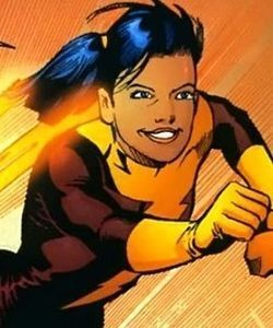 jesse quick-the FIRST female speedster (i think)   ricky