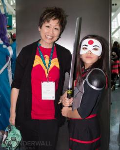 Lisa Yee and Katana - ESJ Cosplay