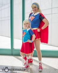 Two Supergirl - Heroic Girls
