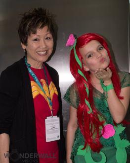 Poison Ivy and Lisa Yee - Heroic Girls
