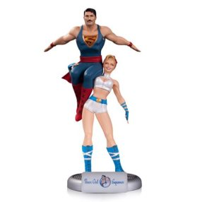 Power Girl and Superman