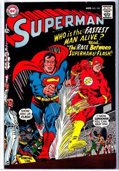 Superman #199, circa 1967