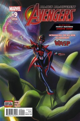 All-New All-Different Avengers #9 - Cover by Alex Ross