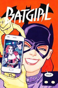 Batgirl #29 variant - Cliff Chiang