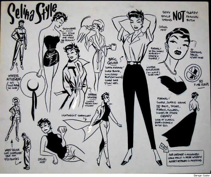 Selina Kyle Style Guide - Darwyn Cooke