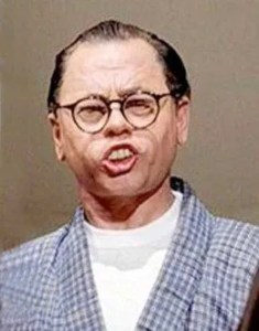 Mickey Rooney as Mr. Yunioshi in 'Breakfast at Tiffany's'