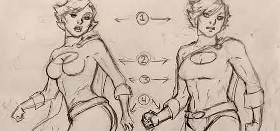 How to Objectify Women in Comics