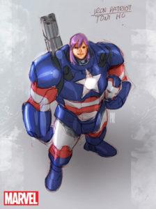 Iron Patriot (Toni Ho)
