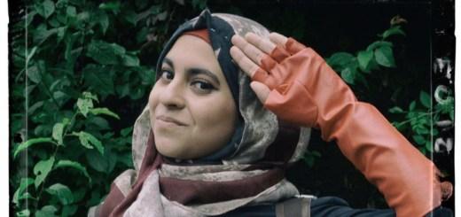 Hijabi Hooligan as Captain America