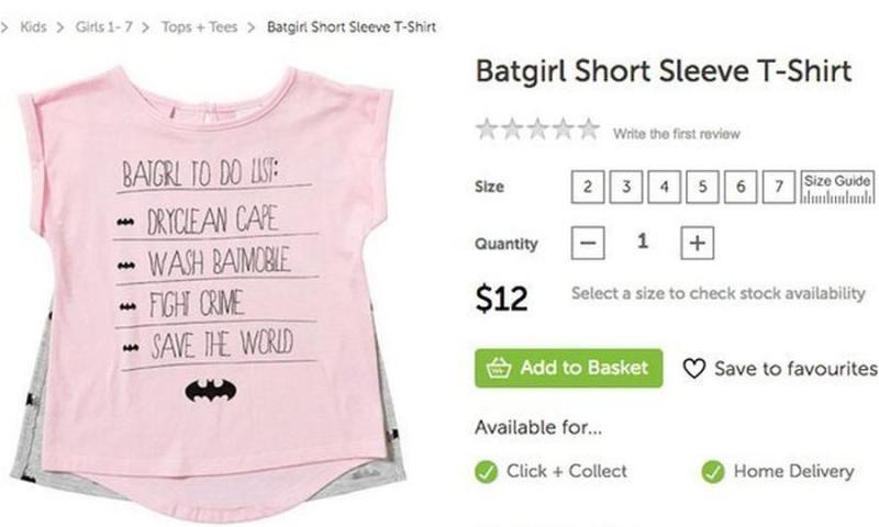 Batgirl T-Shirt: Target Australia