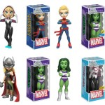 Women of Marvel Enter the 'Rock Candy' Collectible Line