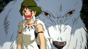"San from ""Princess Mononoke"""