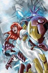 Invincible Iron Man #8 - Mary Jane Variant