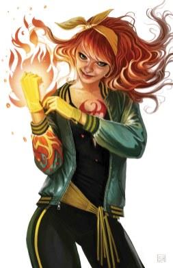 Iron Fist #4 - Mary Jane Variant