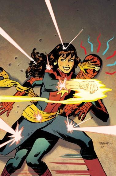 The Mighty Captain Marvel #6 - Mary Jane Variant