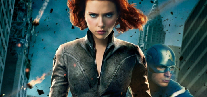 Black Widow and Captain America