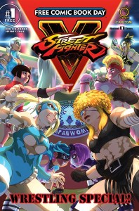 Street Fighter V Wrestling Special