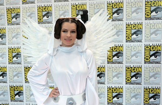 Angel Leia - photo by Steve Blanchard