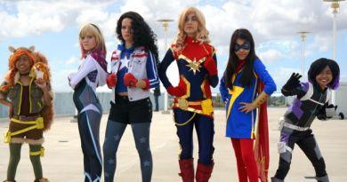 Marvel Rising Group Cosplay – WonderCon 2018