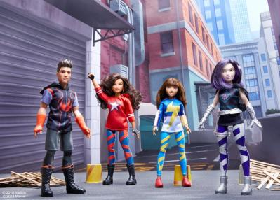 Marvel Rising Training Outfits