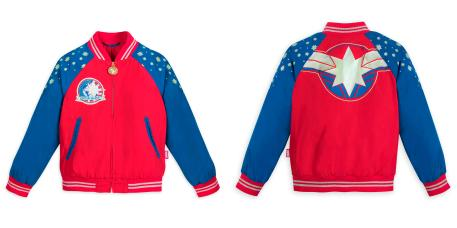 Captain Marvel Kid's Jacket - Disney Store - MSRP: $16.95