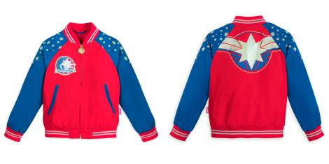 Captain Marvel Kid's Jacket - Disney Store - MSRP: $16.95
