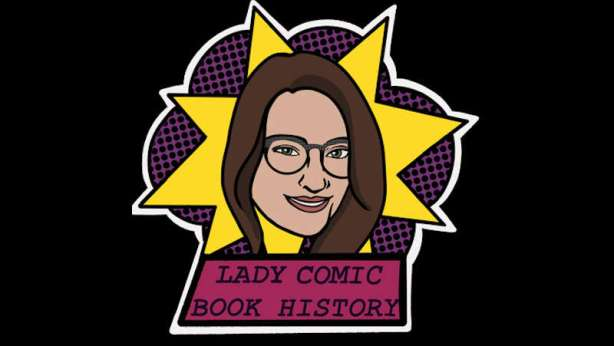 Lady Comic Book History Header