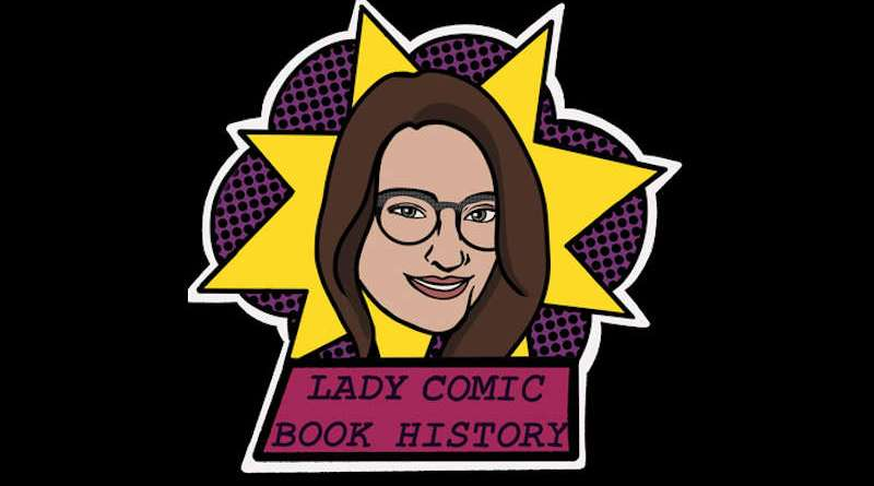 Lady Comic Book History Header