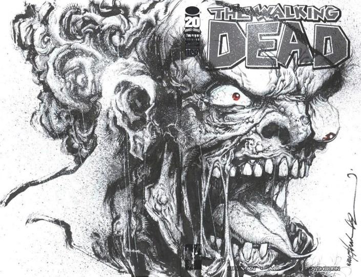 The Walking Dead 100 Project - Hero Initiative