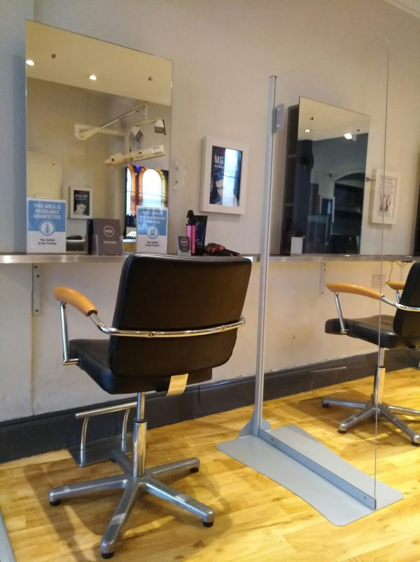 salon hygiene screen